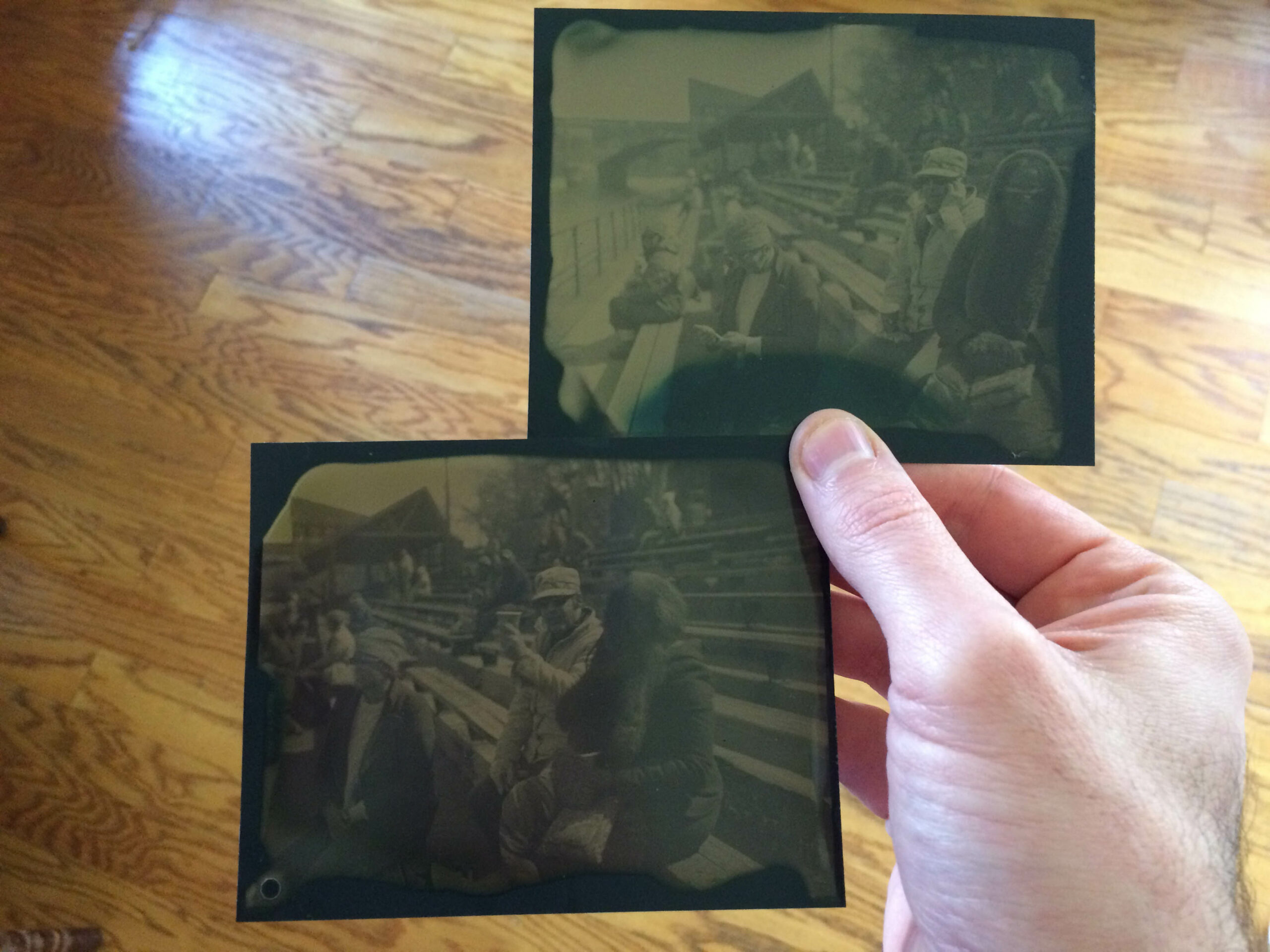 Dry plate tintype developer, redux